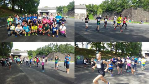 2019年9月22日 第104回UP RUN皇居マラソン大会