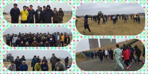 2019年2月11日 第3回UPRUN市川江戸川河川敷マラソン