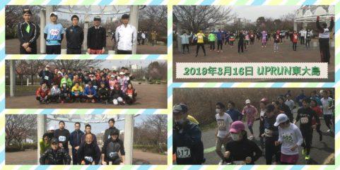 2019年3月16日 第36回UPRUN江戸川区東大島荒川河川敷マラソン大会