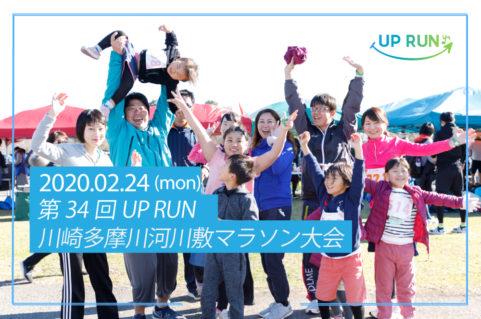 第34回UPRUN川崎多摩川河川敷マラソン大会